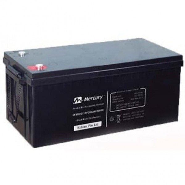 Mercury Deep Cycle Battery 200ah