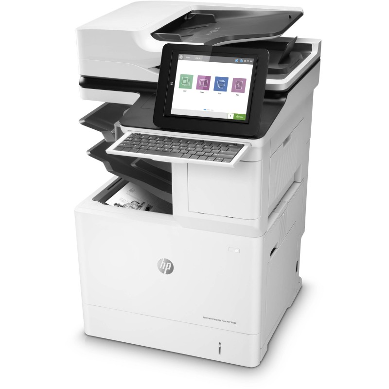 HP LaserJet Enterprise Flow M632z Monochrome AIO Printer