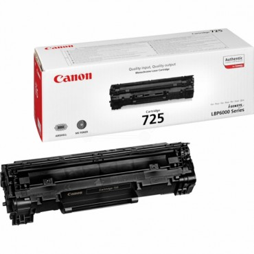 Canon 725 Black Original Toner Cartridge
