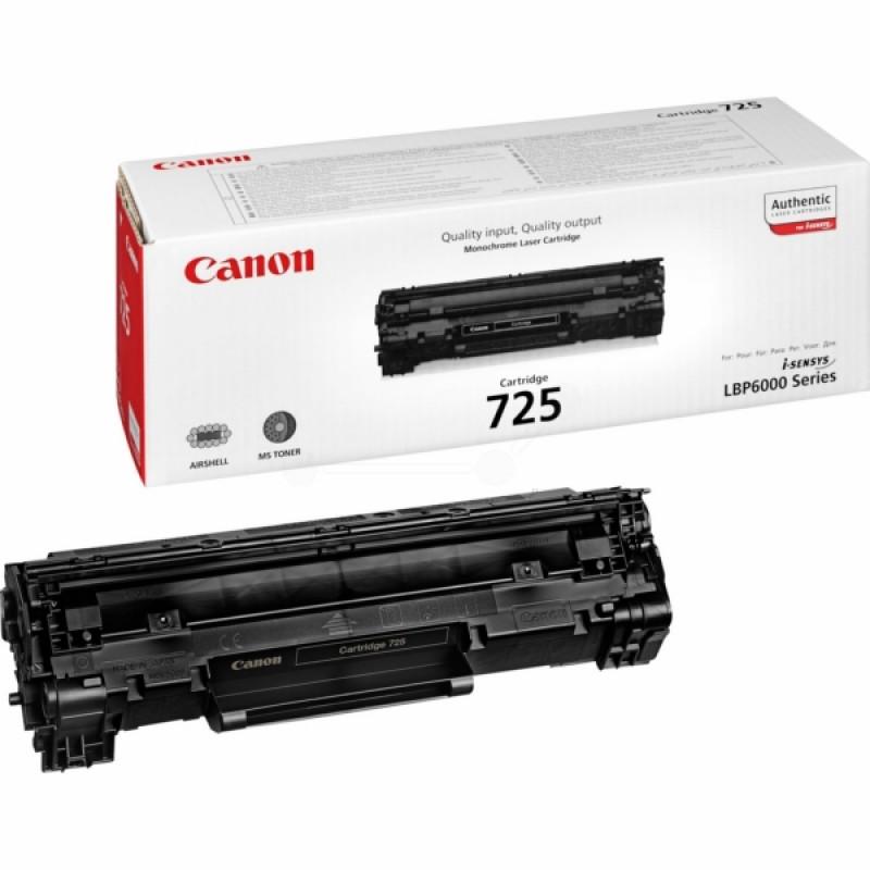 Canon 725 Black Original Toner Cartridge
