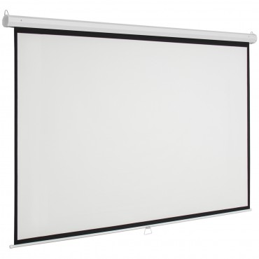 120 x 120 Manual Pull-down Projection Screen