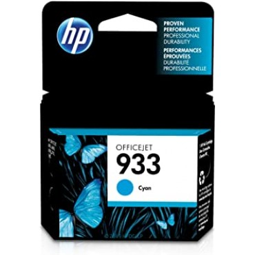 HP 933 Cyan Original Ink Cartridge