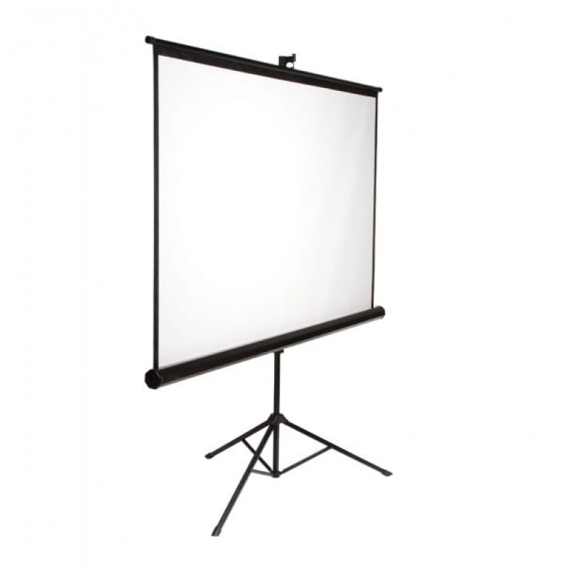 72 x 72 Portable Tripod Projector Screen