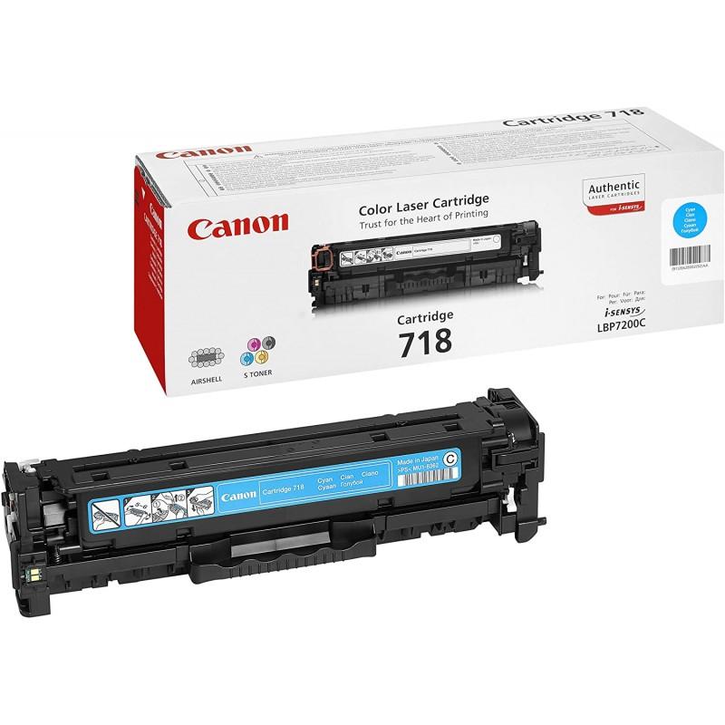 Canon 718 Toner Cartridge - (Cyan)