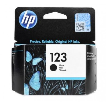 HP 123 Black Original Ink Cartridge