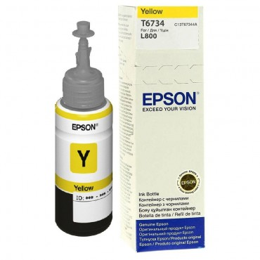 Epson T6734 Yellow Ink Bottle 70ml