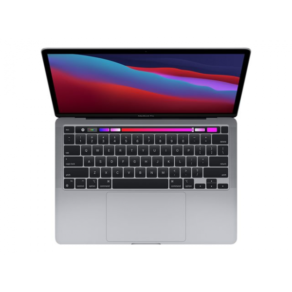 "Apple MacBook Pro 13 ,(MYD82B/A), M1 CHIP - 8-CORE CPU / 8-CORE GPU, Touch Bar and Touch ID, Backlit Magic Keyboard, 256GB SSD, 8GB RAM, 13"", macOS"