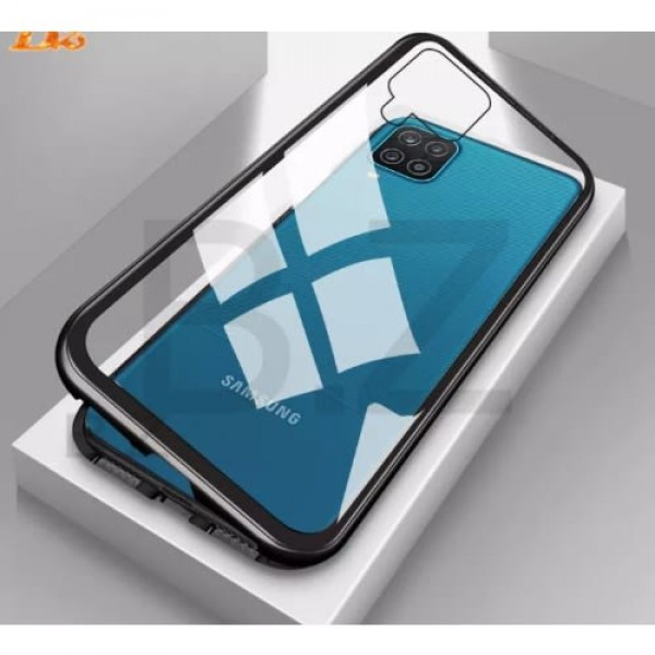 Magnetic Front And Back Case Cover For Samsung Galaxy A12