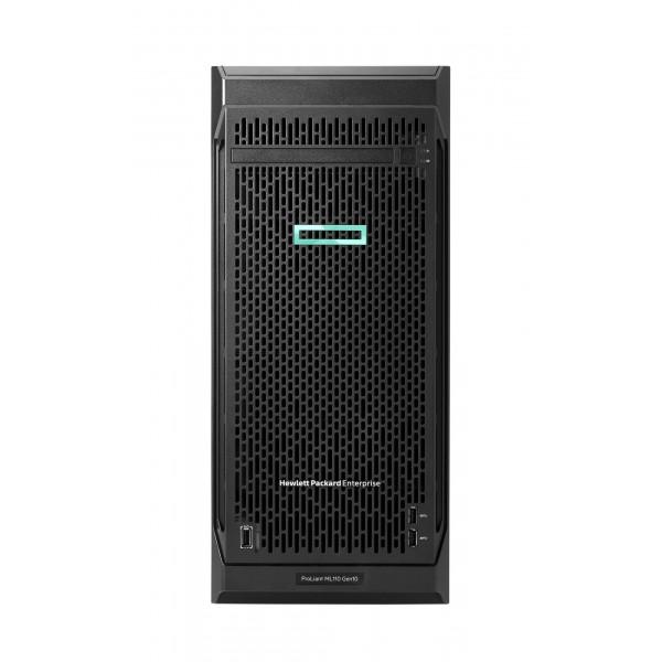 HPE ProLiant ML110 Gen10 (P21438-421) 3204 1P 16GB-R S100i 4LFF-NHP 550W PS Server