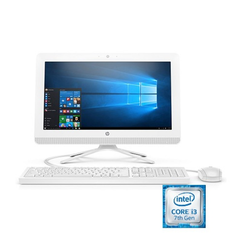 HP All-in-One - 20-c404nh, 4MR41EA, Intel Core i3,  500GB HDD, 4GB RAM, Windows 10.