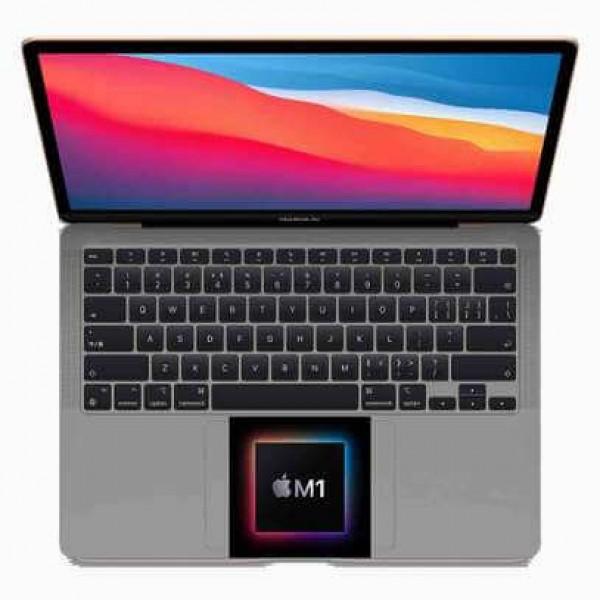 """Apple MacBook Air with Retina (MGN73B/A) M1 CHIP, 8 Core CPU, 8 Core GPU, 8GB RAM , 512GB SSD, 13"""", macOS Big Sur 11.0"""