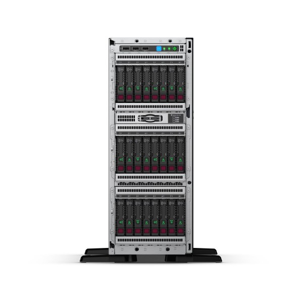 HPE ProLiant ML350 Gen10 (P11051-421) 4210 1P 16GB-R P408i-a 8SFF 1x800W RPS Server