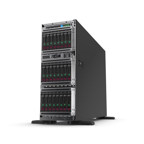 HPE ProLiant ML350 Gen10 (P21788-001) 4210R 1P 16GB-R P408i-a 8SFF 1x800W RPS Server