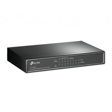 TP-Link 8 Ports Gigabit Network Switch with 4 Ports POE