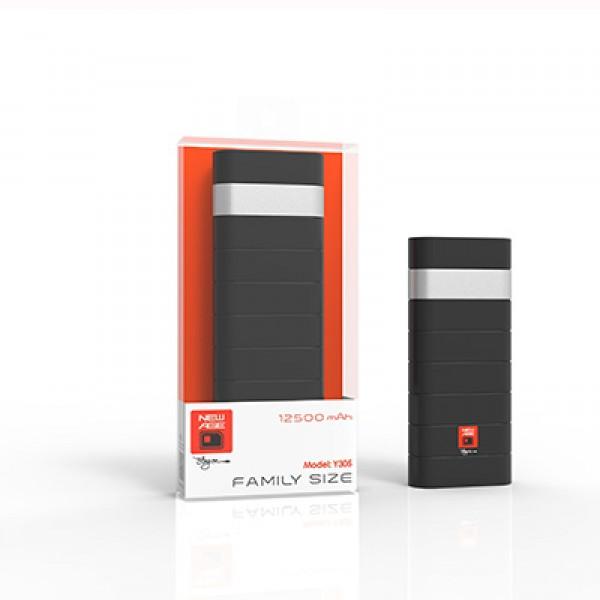 New-Age Power-Bank Y305 12500mAh