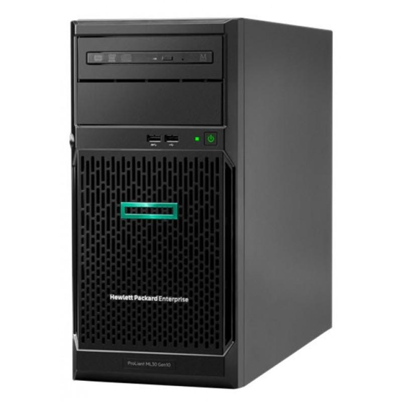 HPE ProLiant ML30, Gen10 E-2224 1P 8GB, 1TB-U S100i 4LFF-NHP 350W PS Server (P16926-421)
