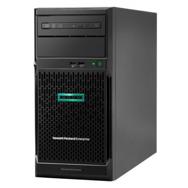 HPE ProLiant ML30 (P16928-421) Gen10 E-2224, 1P 16GB-U S100i 4LFF 350W PS Server