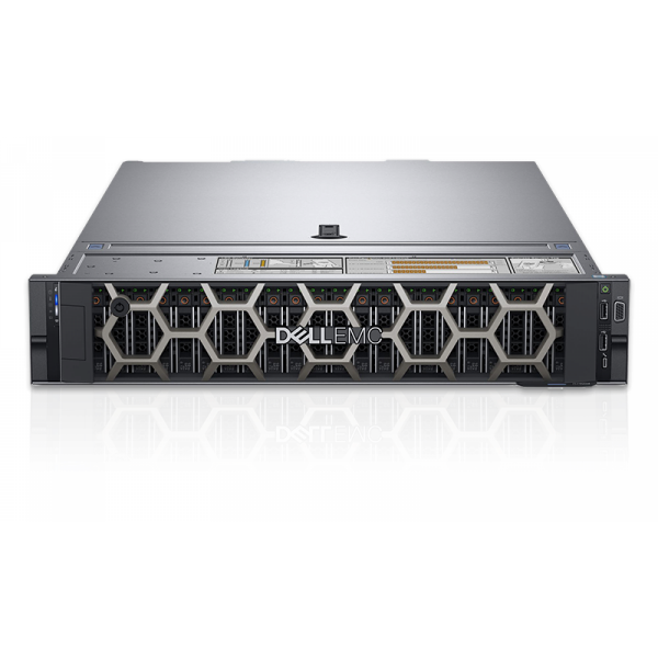 "Dell PowerEdge R740, Chassis 8 x 3.5"",Xeon Silver 4210,16GB, 1x600GB/Rails/Bezel/DVD RW/Broadcom 5720 QP 1Gb/PERC H730P/iDRAC9 Exp/495W,"