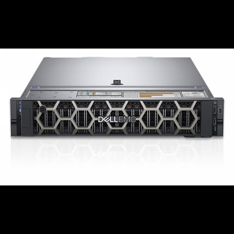 "Dell PowerEdge R740, Chassis 8 x 3.5"",Xeon Silver 4210,16GB, 1x600GB/Rails/Bezel/DVD RW/Broadcom 5720 QP 1Gb/PERC H730P/iDRAC9 Exp/495W,"
