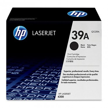 HP 39A Black Original LaserJet Toner Cartridge