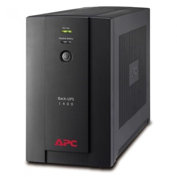 APC Back-UPS 1400VA, 230V, AVR, Universal and IEC Sockets  (With free extension socket)