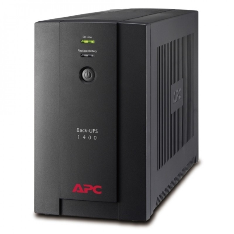 APC Back-UPS 1400VA, 230V, AVR, Universal and IEC Sockets