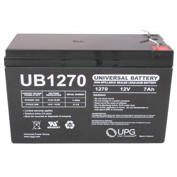 Crown Micro Lead-Acid UPS Battery SH7-12 (12V 7AH)