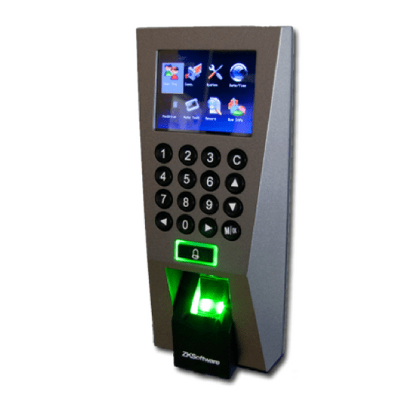 ZKTeco F18 5000 Fingerprint Templates/30,000 Cards/100,000 Transactions
