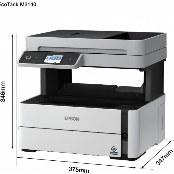 Epson EcoTank Monochrome M3140 AIO Duplex InkTank Printer