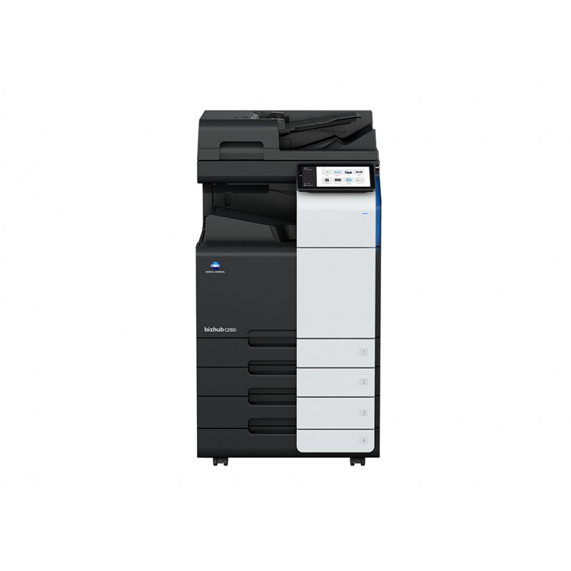 konica minolta bizhub c250i multifunction printer with ADF