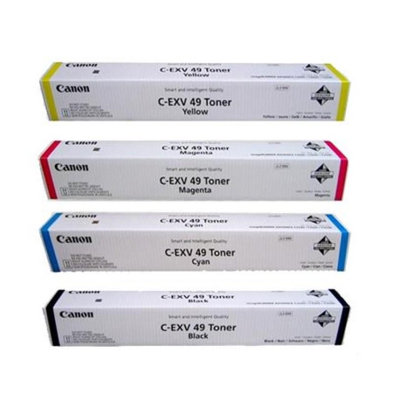 Canon C-EXV49 4 Colour Toner Cartridge Multipack