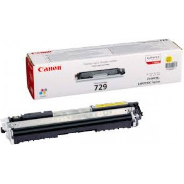 Canon 729 Toner Cartridge - (Yellow)