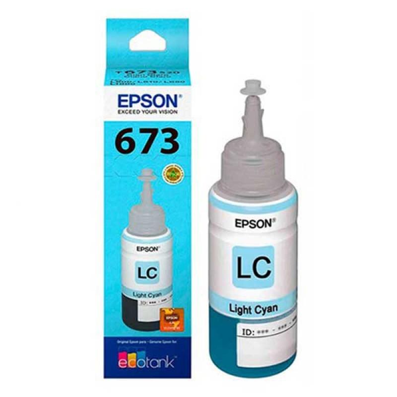 Epson T6735 Light Cyan ink bottle 70ml
