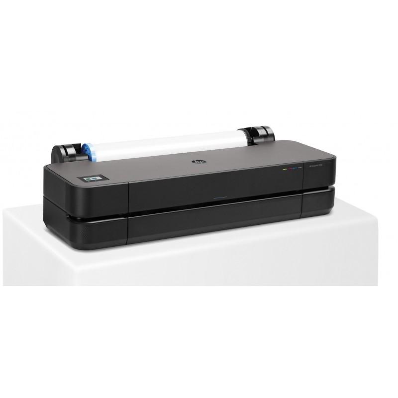 "HP DesignJet T230 Large Format Compact Wireless Plotter Printer - 24"""