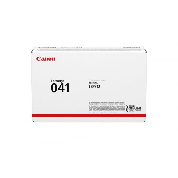 Canon 041 Toner Cartridge (041 BK)