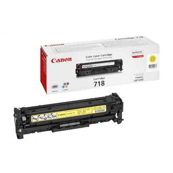 Canon 718 Toner Cartridge - (Yellow)