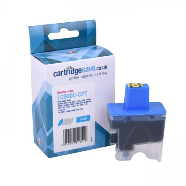 Brother LC900C Cyan Ink Cartridge