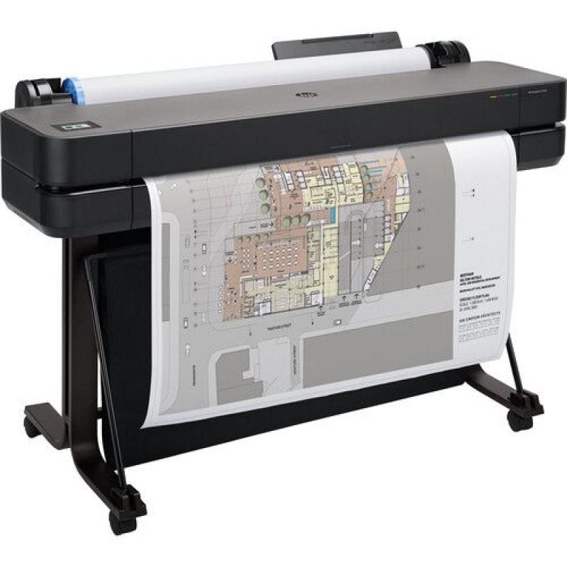 "HP DesignJet T630 Large Format Wireless Plotter Printer - 36"""