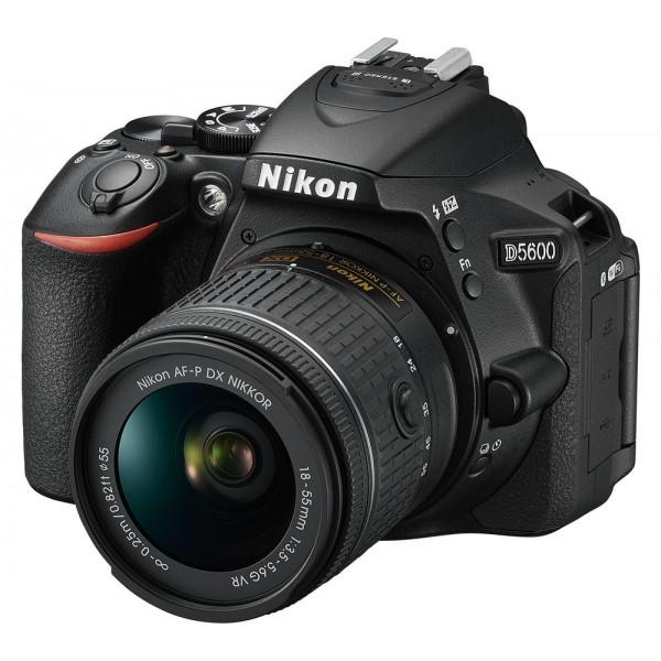 Nikon D5600 + AF-P 18-55 VR DSLR Camera