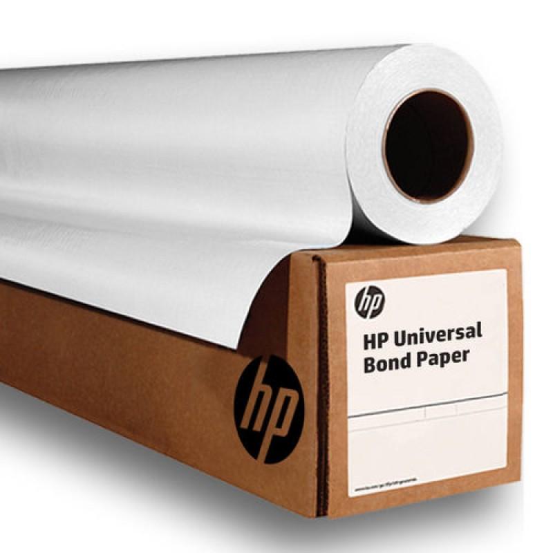 """HP Universal Bond Inkjet Plotter Paper 80g/m² Q1396A 24"""" 610mm x 45.7m Roll"""