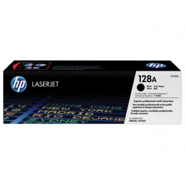 HP 128A Black Original LaserJet Toner Cartridge